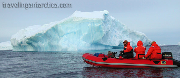 Antarctica tourism iceberg sight seeing cruises