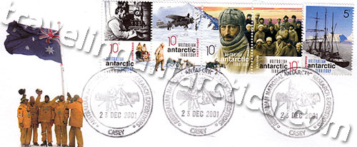 Postcards and Stamps from Antarctic Post Offices