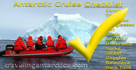 Antarctic Cruise Clothing and Equipment Checklist